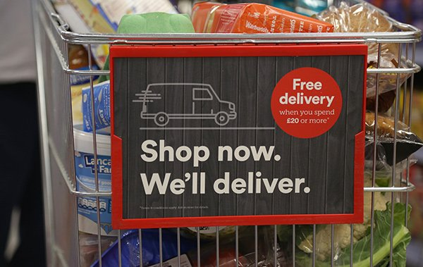 Iceland trolley shop now we'll deliver