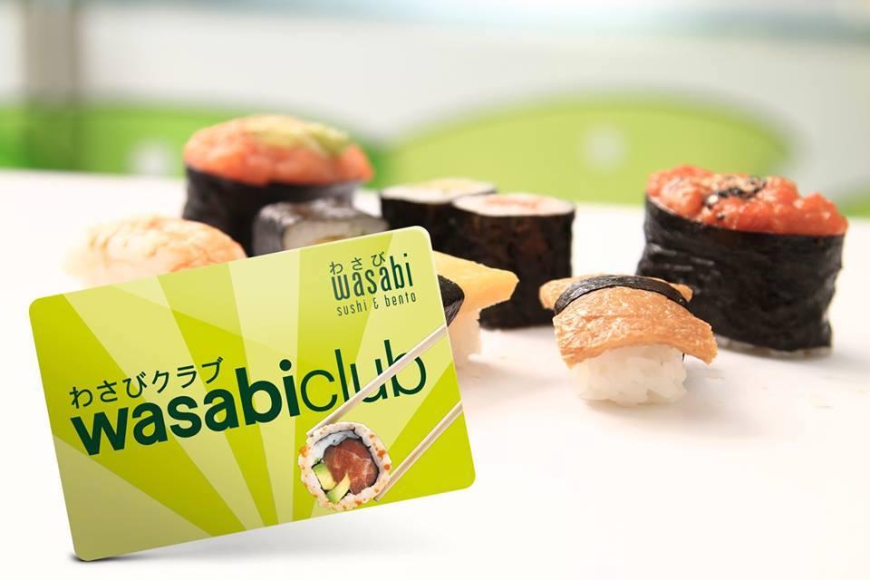 Wasabi club card